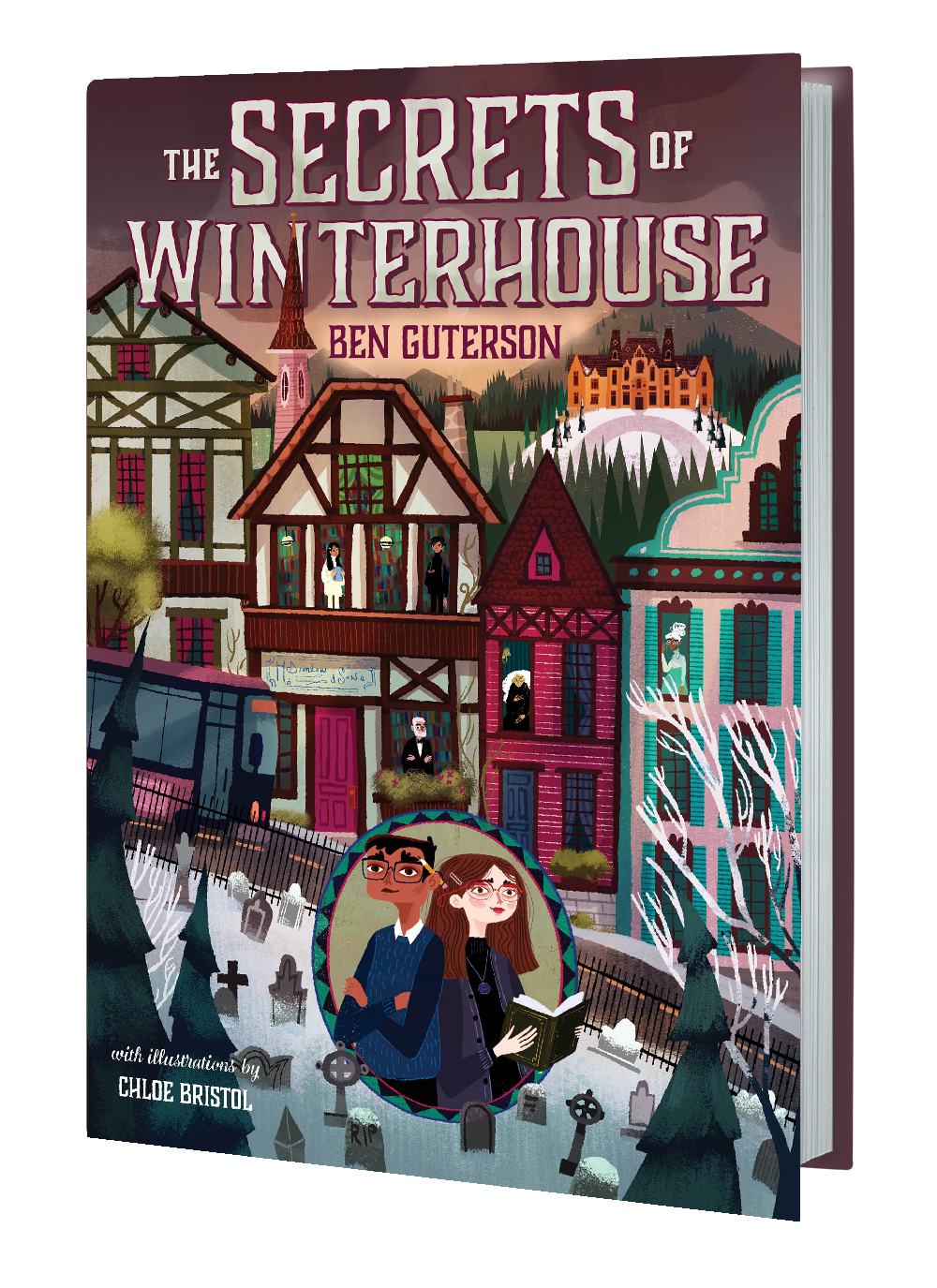 the secrets of winterhouse bookshot