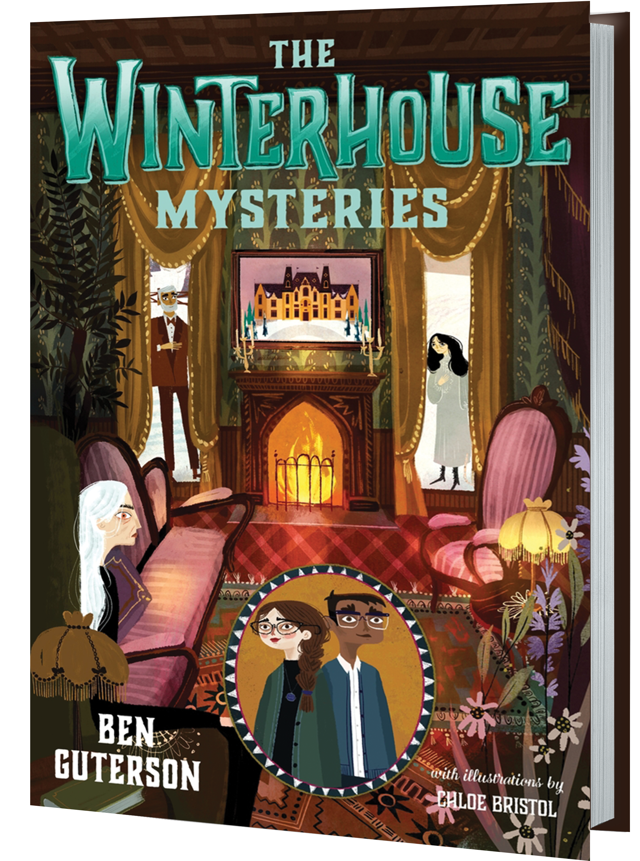 Winterhouse Mysteries 3d Book
