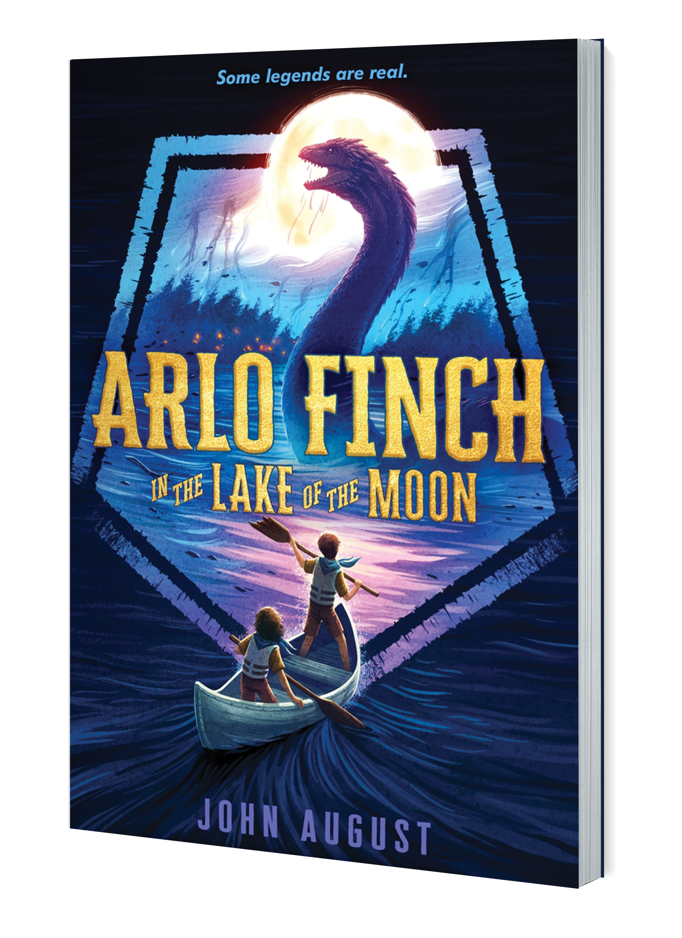 Arlo Finch Lake of Moon 3D PB Book
