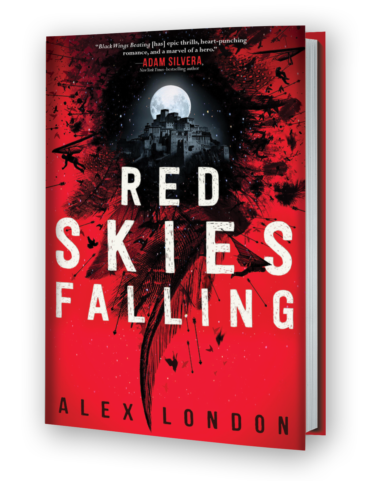 Red Skies Falling 3d Cover