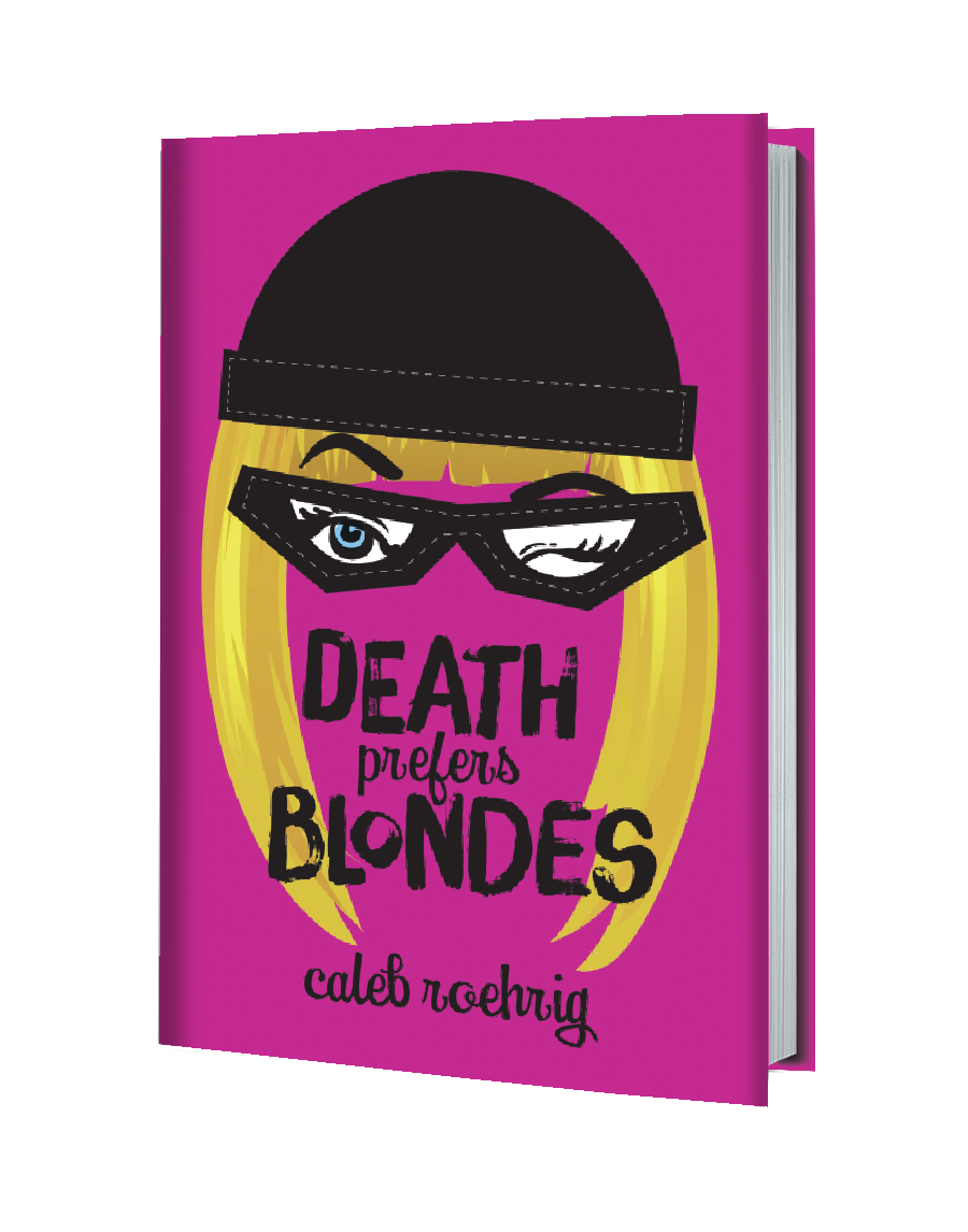 death prefers blondes 3d cover