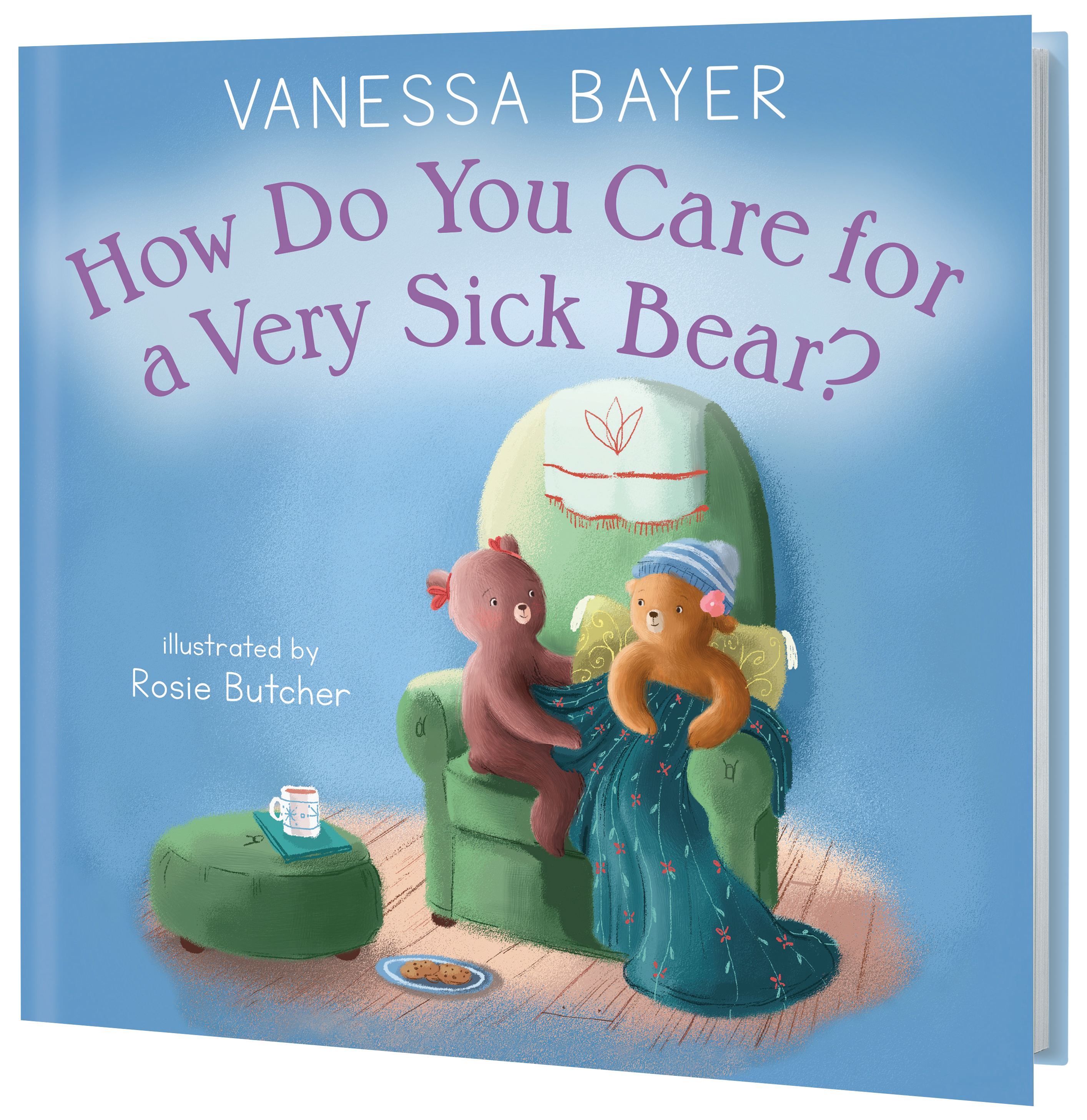 3d rendering of How Do You Care For a Very Sick Bear?