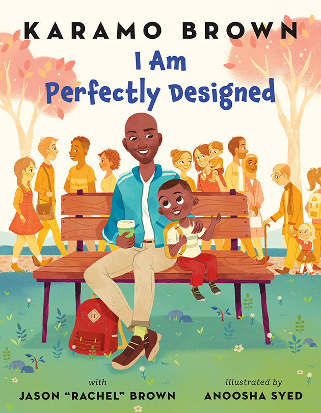 Cover image for I Am Perfectly Designed by Karamo Brown