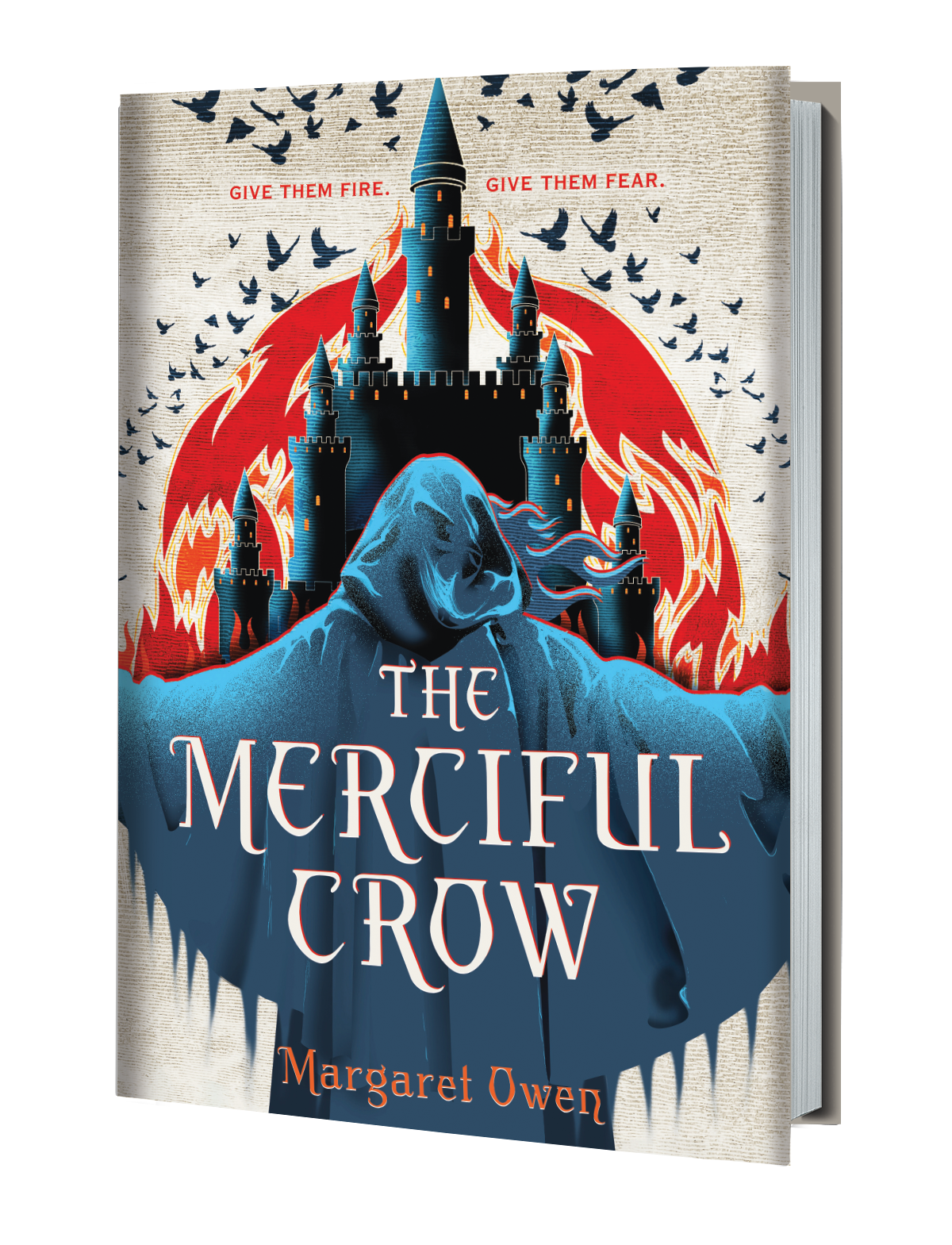Merciful Crow 3D Book