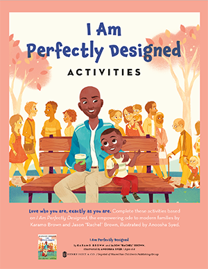 I am Perfectly Designed Activity Kit Cover