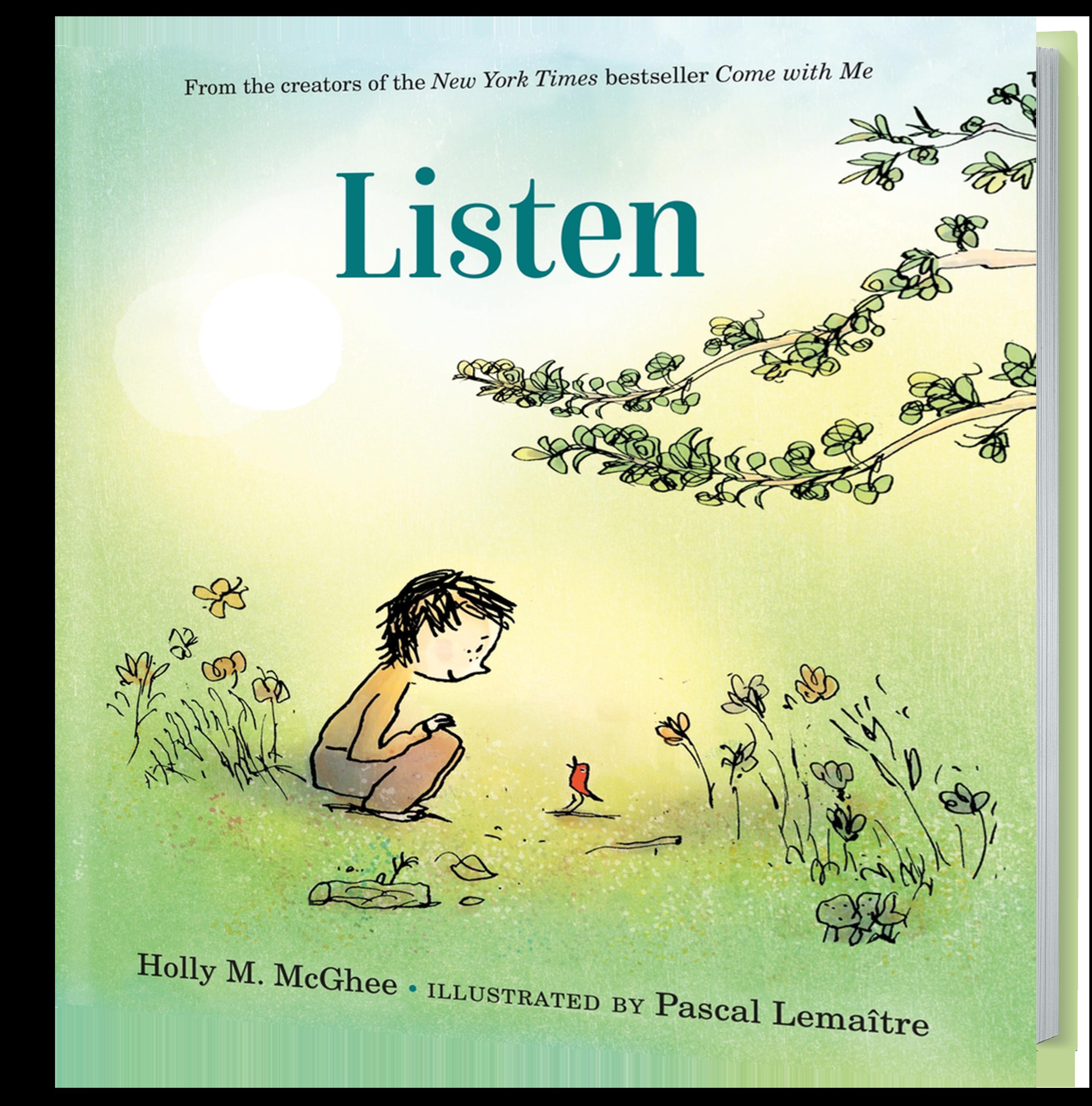 Listen 3D Book Cover