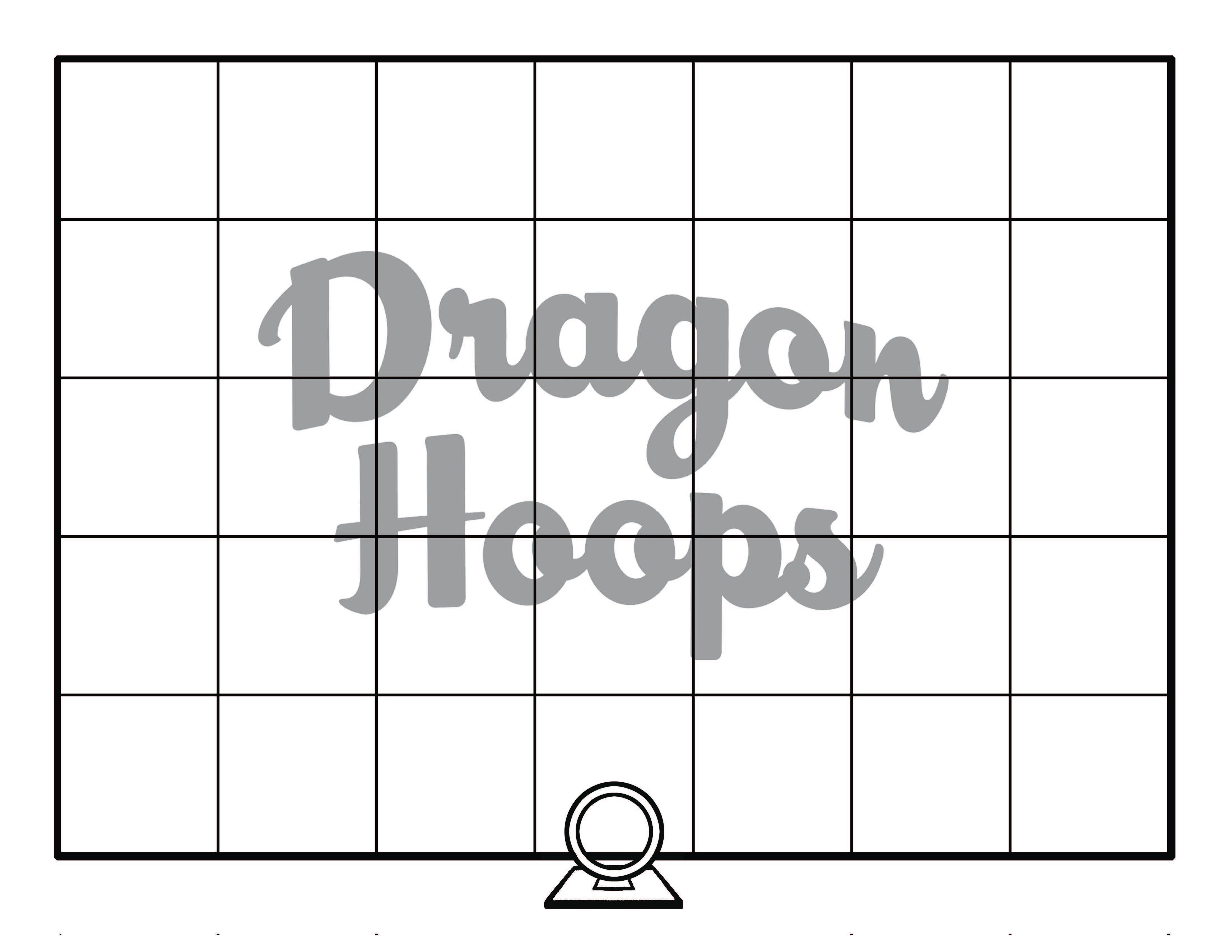 Dragon Hoops Game Board
