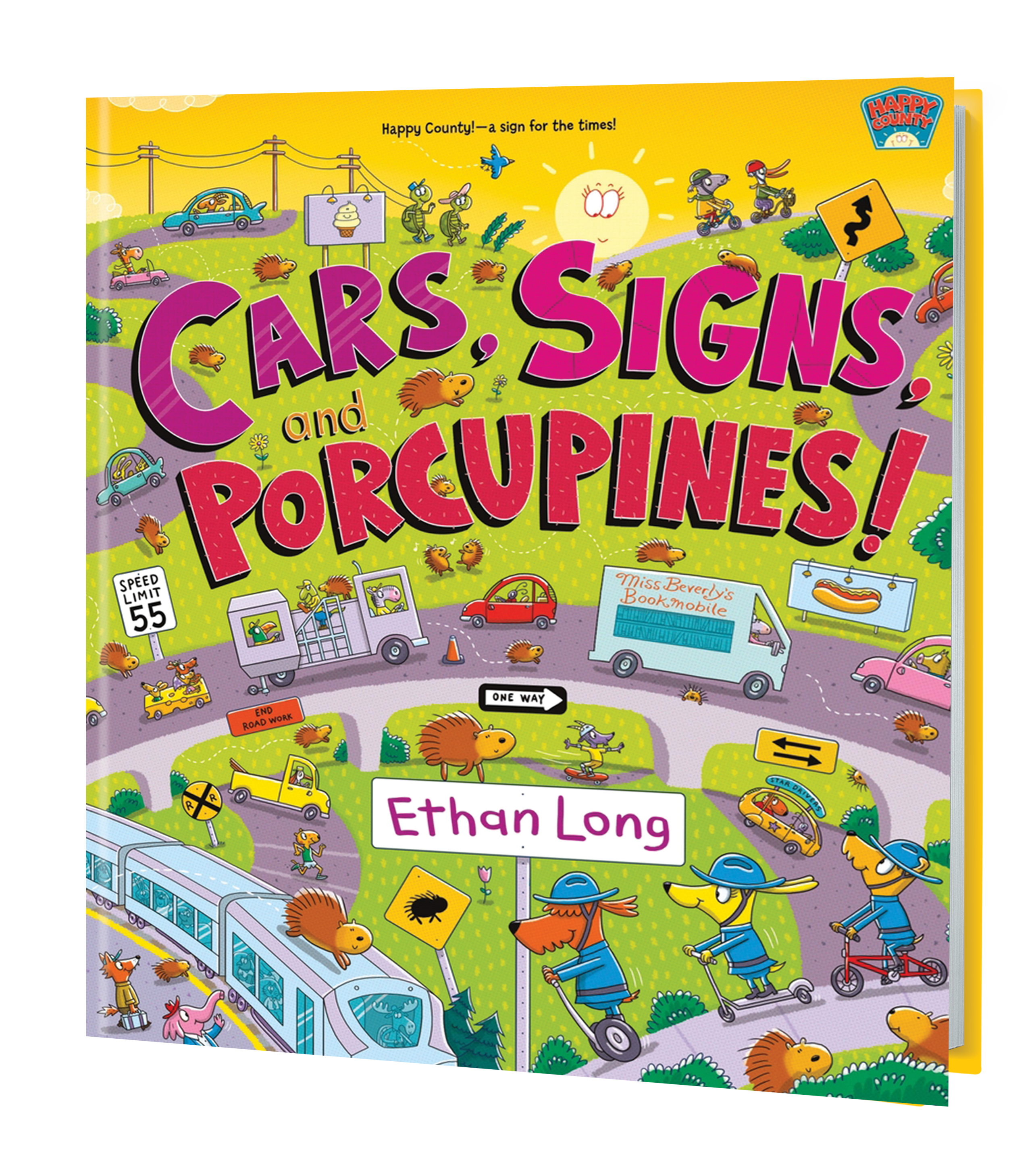 Cars, Signs, Porcupines 3D Book Cover