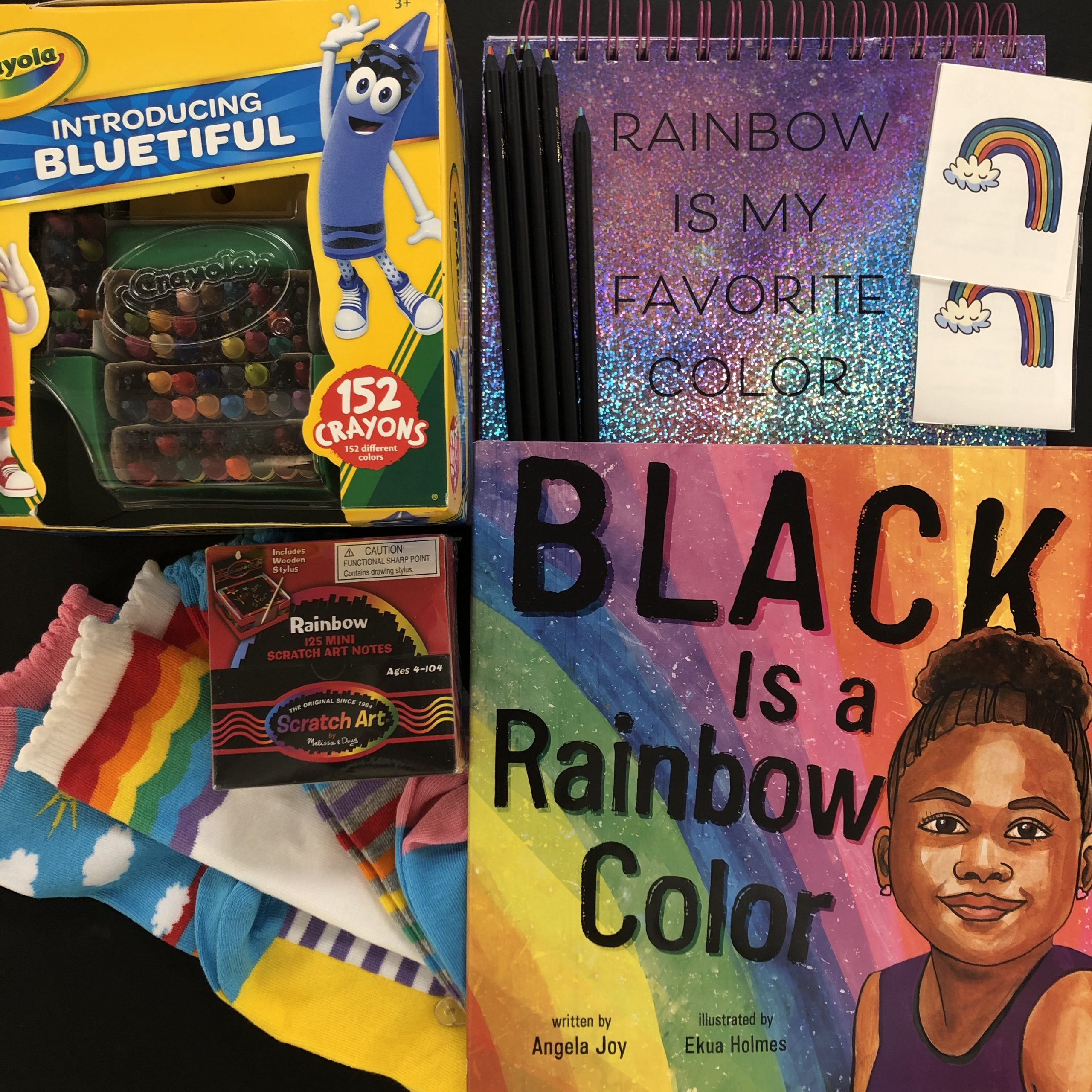 Black Is A Rainbow Color Sweepstakes