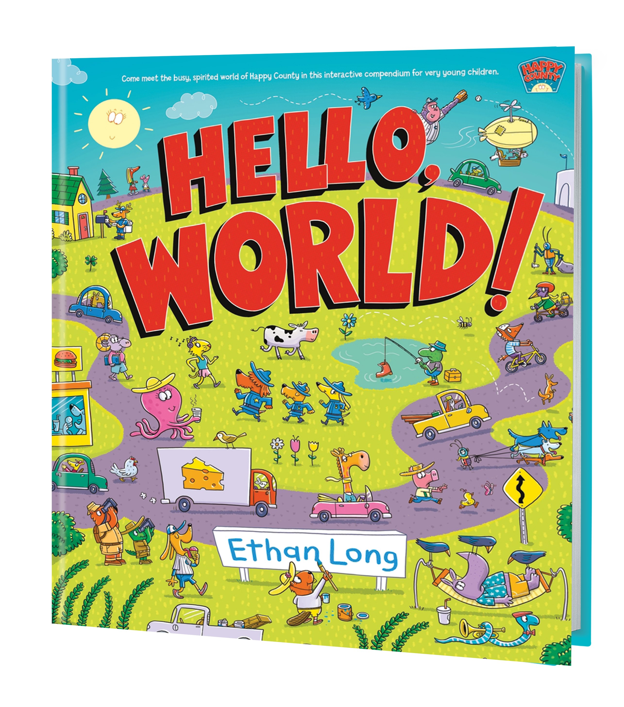 Hello World 3D Book Cover