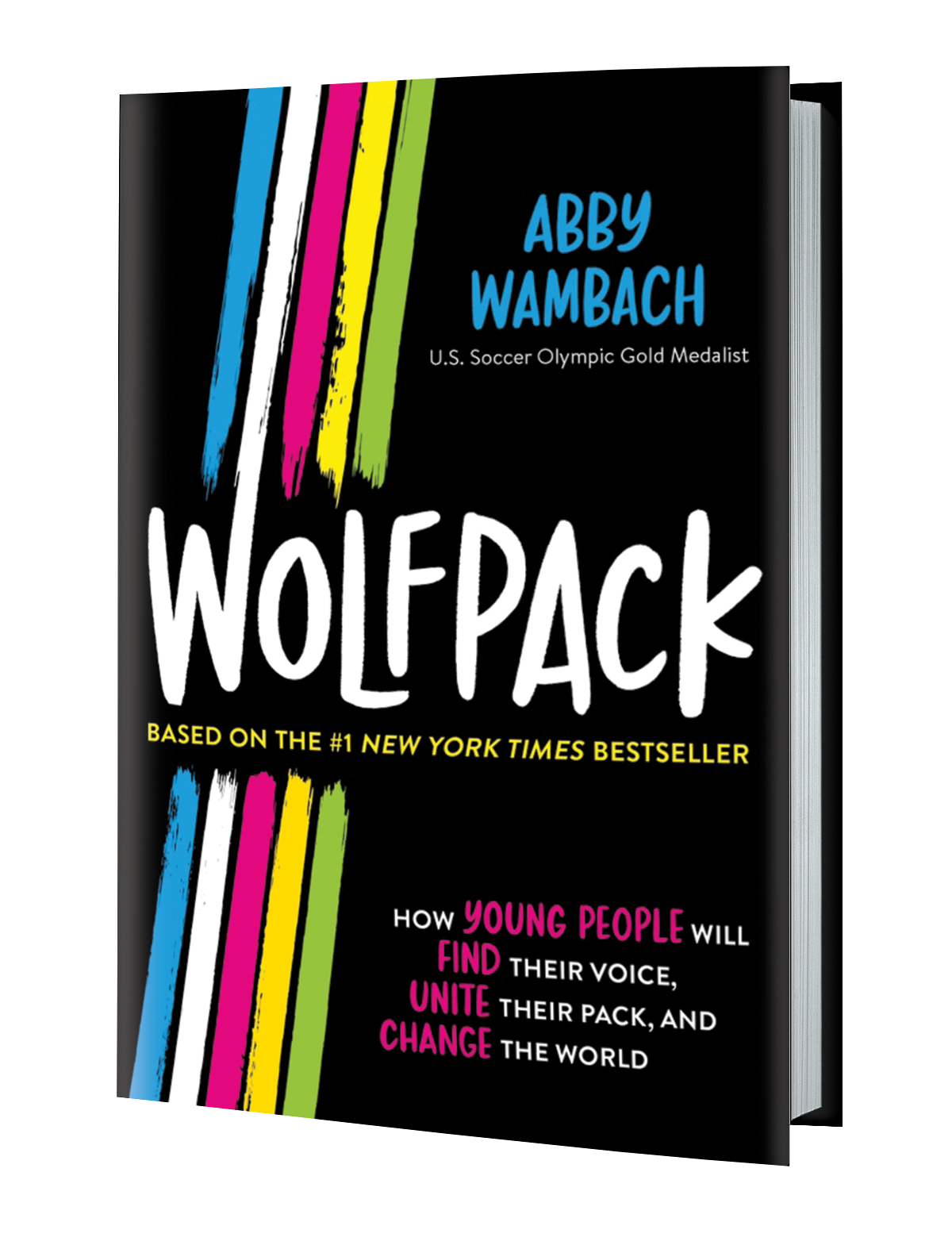 Wolfpack 3D Book cover