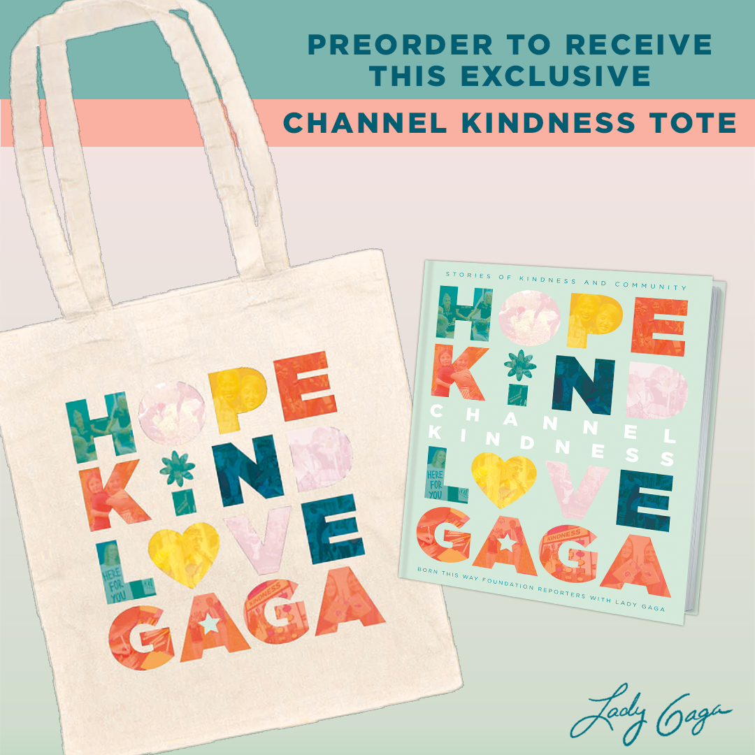 Channel Kindness Tote Graphic