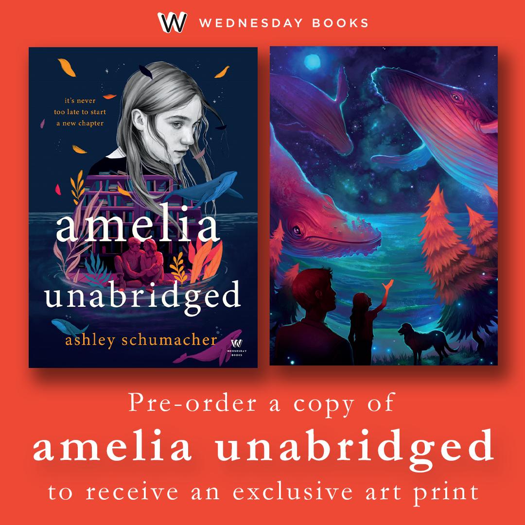 Amelia Unabridged Preorder Incentive