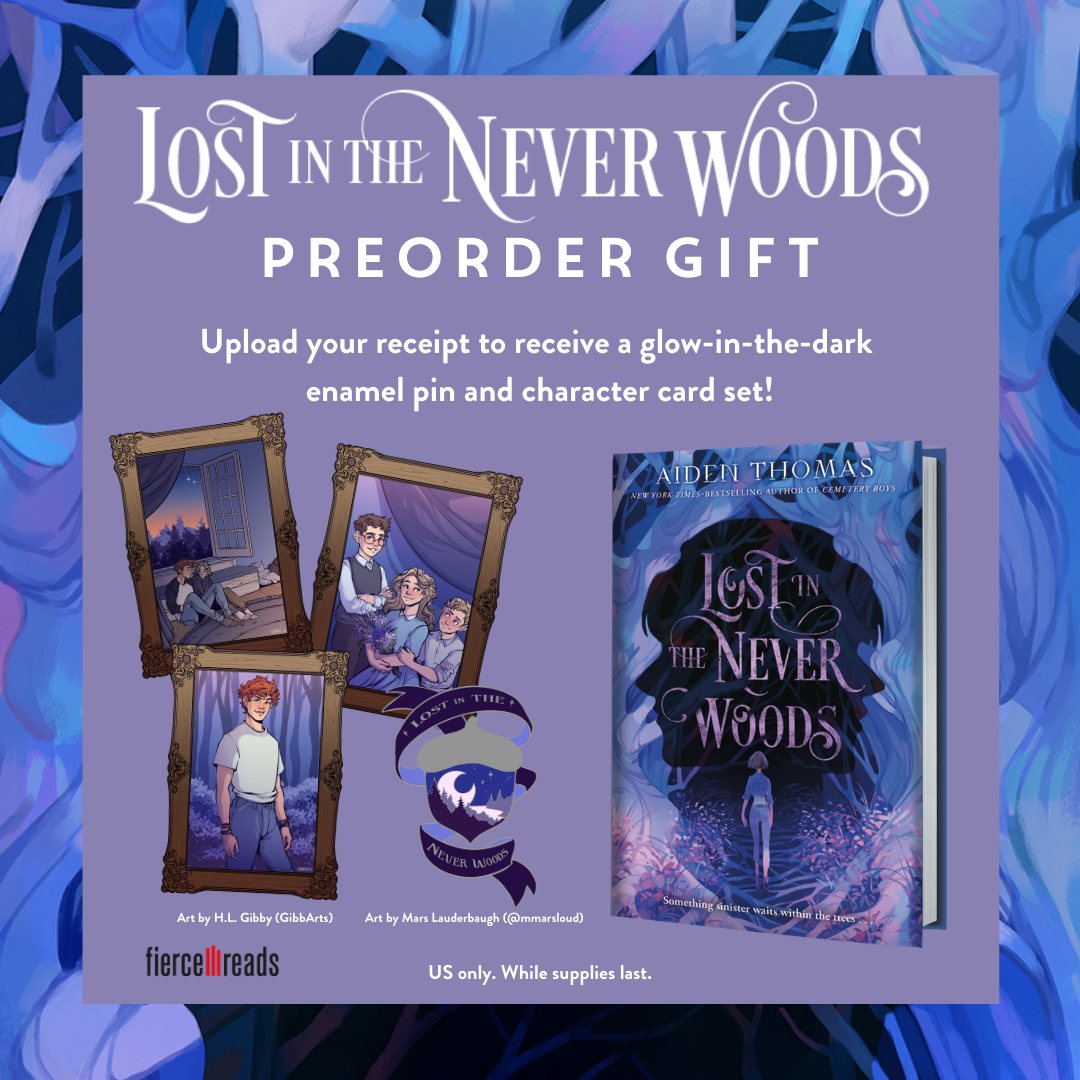 Lost in the Never Woods preorder campaign