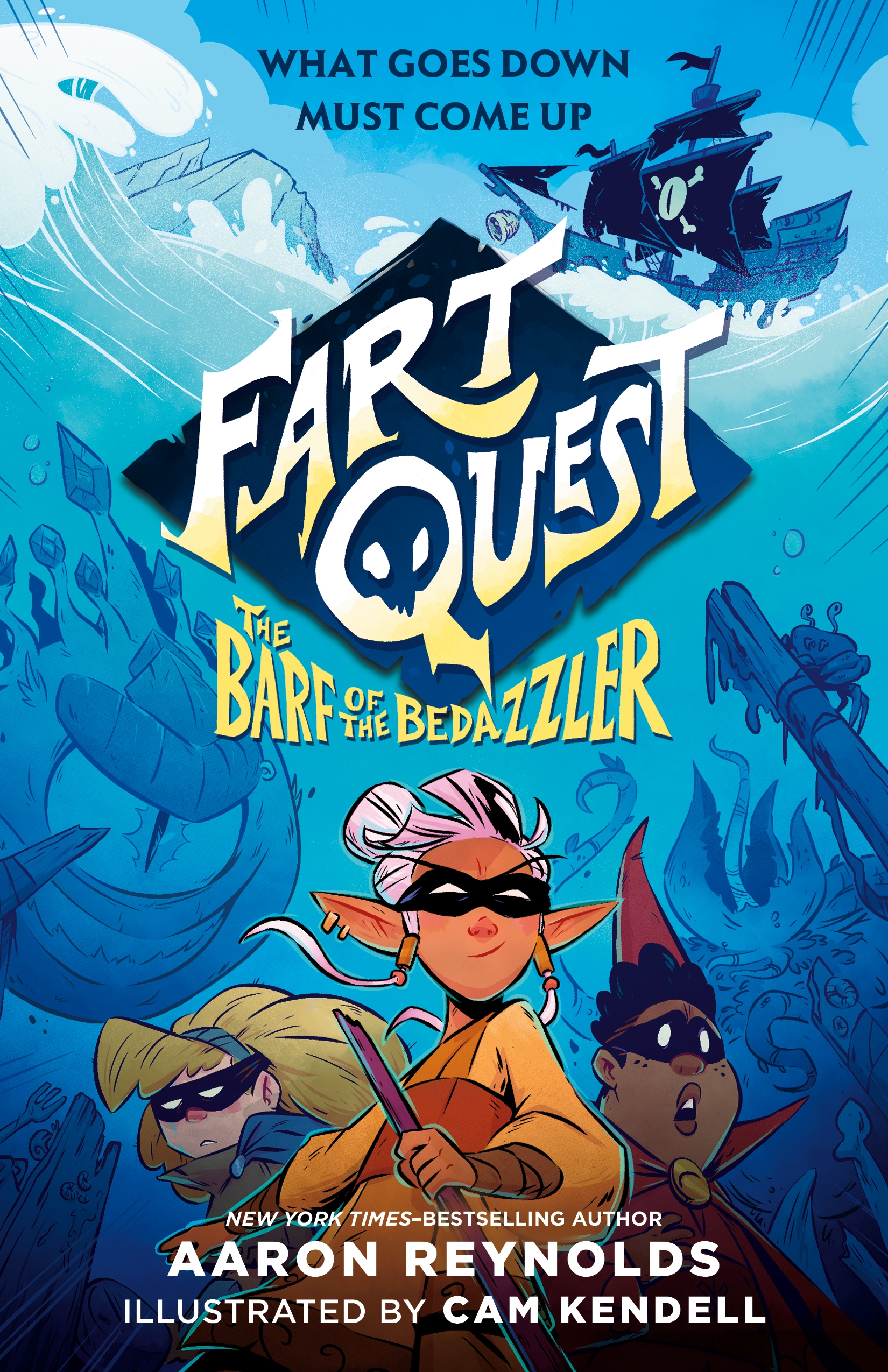 Fart Quest The Barf of the Bedazzler Cover
