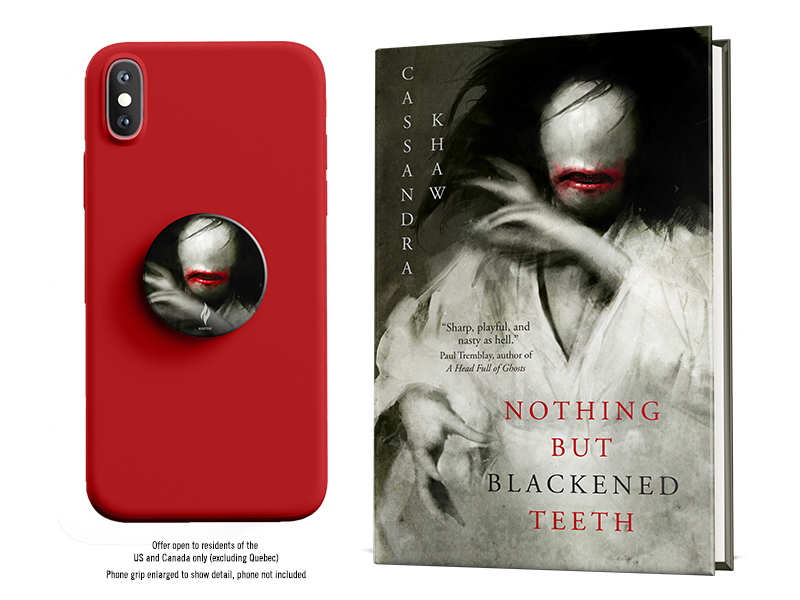 NOTHING BUT BLACKENED TEETH Preorder Promotion