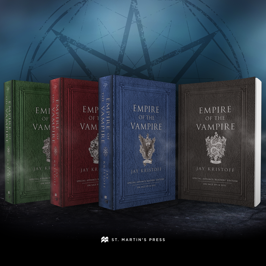 Empire of the Vampire Sweepstakes Prize