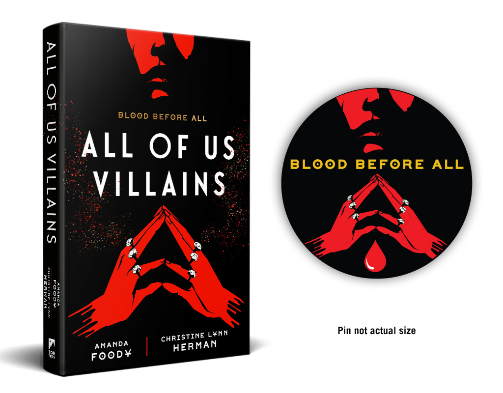 All of Us Villains preorder campaign