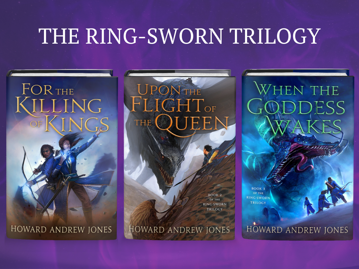 The Ring-Sworn Trilogy Sweepstakes Prize