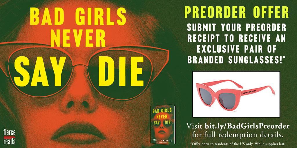 Bad Girls Never Say Die promo